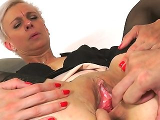 Sexy Skinny Matures Woman Hard-core Cooch Banging, Finger-tickling...