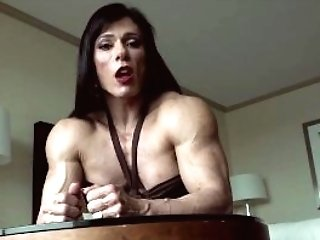 blowjob woman Strong muscle
