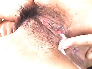 Japanese Woman Dual Fucked Gets Creampied.mp4