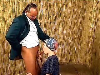 Suntanned Matures Whore With A Scarf On Her Head Is Glad To Rail...