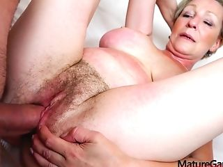 Hairy Granny Antonia Gaped And Plowed By Kamil Klein