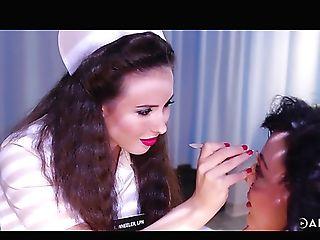 Horny And Sexy Nurse Casey Calvert Loves Nothing But All Girl...
