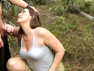 Hot Unexperienced Cougar Mom Fucking Her Own Sonnie Outdoor In The...
