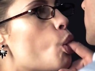 Hot Honey With Glasses Fuck