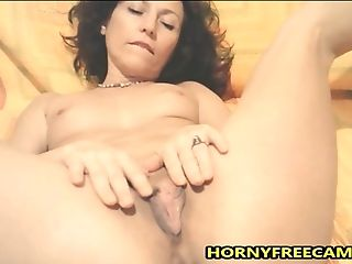 Horny Cougar Will Unwrap And Finger Cooter For You