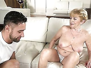 Flabby Bodied Puckered Matures Whore Malya Gets Her Matures Cunt...