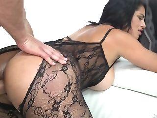 Cuban Seductress Cristal Caraballo Is Fucked Hard By Bald Headed J Mac