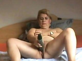Orgasm With A Cucumber