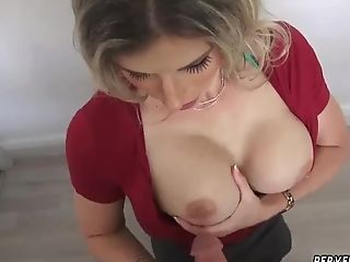 Sandy-haired Cougar Hard-core And Step Mom Her Companion'...