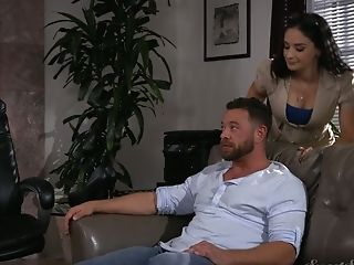 Spunky Paramour Sheena Ryder Gives A Wonderful Oral Job And Gets...