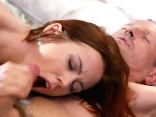 Mom Horny Housewife Deep Throats Her Hubby's Knob Dry After...