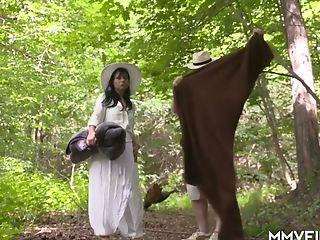 Bitchy Matures Dark Haired Bonnie D Is Fucked On A Picnic