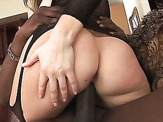 Lucky Black Neighbor Gets Greeted By Curvy Chanel Preston's...