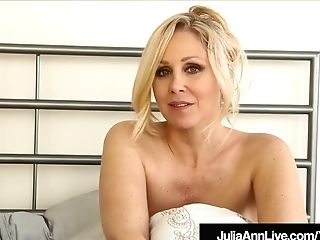 Hot Mummy Julia Ann Gives You Joi As She Switches Undergarments!