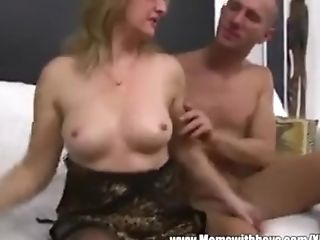 Mom And Son-in-law Nice Intercourse Cooter Munching Mom Bj