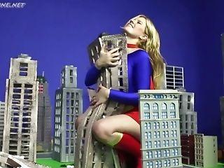 Supergirl Revved Evil - Costume Play Infatuation Honey