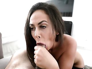 Fabulous Huge-boobed Cougar With Gorgeous Booty Is Fond Of...