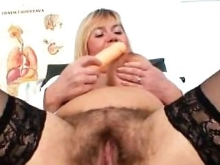 Well-talented Unexperienced-mom Irma Got Extremly Shaggy Vagina