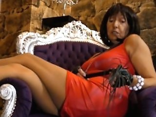 Matures Cougar Female Domination Nylon Pantyhose Joi Mistress