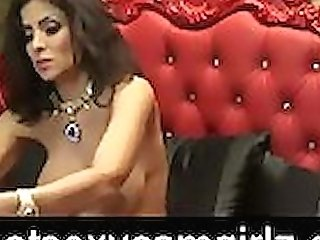 Gorgeous Mummy Touches Her Twat On Webcam -