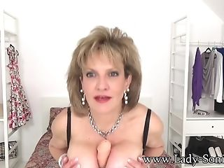 Joi From Lady Sonia While She Tit Fucks A Fuck Stick