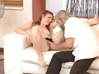 Daddy4k. Matures Dad Of Beau Tastes Teenager Vagina And Penetrates It