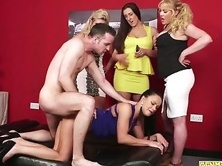 Female Domination Stunner Doggystyled Hard In Peeping Tom Sesh