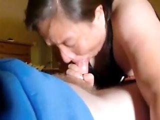 Mature Head #110 - Asian Housekeeper getting a Raise