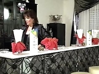 Black-haired Matures Bartender Buttfuck Fucked By Customer
