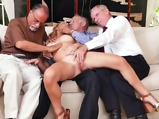 Old Fuck Hd Frannkie And The Group Tag Team