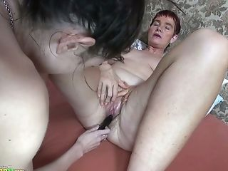 Matures Brief Haired Bitchie Lady Gets Her Old Cunt Taunted By...