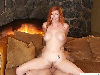 Jaw Pulling Down Crimson Head Lauren Phillips Entices Spouse Of Her...