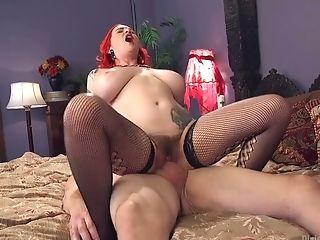 Buxom Mistress Mz Berlin Fucks Butt Hole And Loves Schlong Crushing
