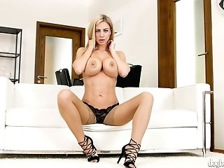 Mouth Watering Czech Stunner Nathaly Cherie Tells Erotic Stories In...