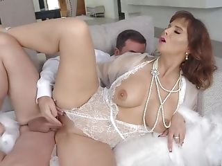 Syren Arches Over And Screams As Jessy Fucks Her From Behind