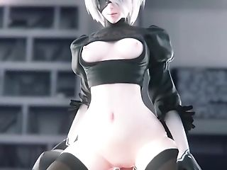 Adult 3 Dimensional Animations Android Nier Automata Compilation