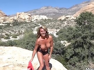 Outdoor Fuck-fest Act With Muscular Matures
