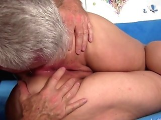 Fat Arse Cougar Gets Fucked Hard