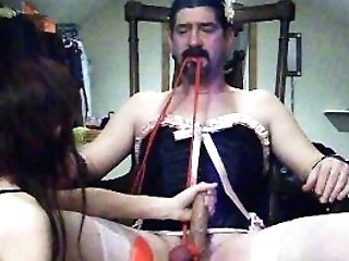 Beautiful Wifey Is A Relentless Dom Cock And Ball Torture