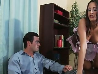 Sex-positive Maid In Sexy Uniform Pleases Her Master As She Gives...