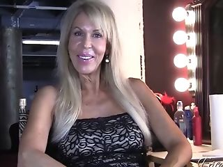 Experienced Blonde Matures Whore In A Sexy Black Sundress Talking...