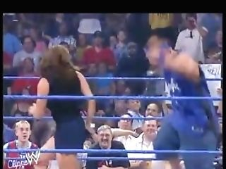 Cena Smacking Stephanie's Bootie For Ten Minutes