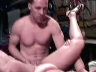 Matures Ginger-haired Woman In The Garage Sucking Dick Of A Mechanic