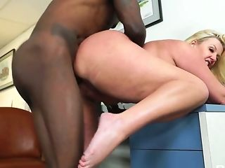 Big Bottomed And Big Tittied Office Whore Zoey Andrews Goes Wild On...