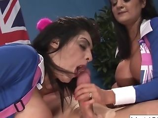 A Very Brit Group Orgy Practice|1::big...