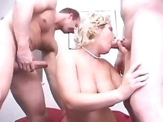 Two Buff Dudes Banging Insatiable Kennedy