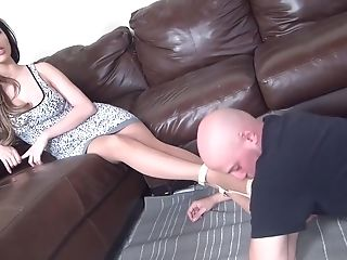 Decadent Female Domination Joy With Nylon Masks And A Belt Dick