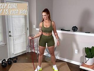 Siri Dahl Arse Yoga - Curvy Stunner Solo