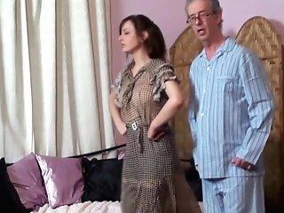 Mom Spanks Daughter-in-law And Daddy