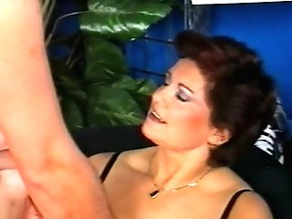Vintage hairy german mature fucked